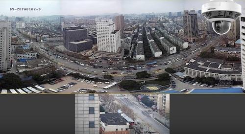 панорамная камера видеонаблюдения