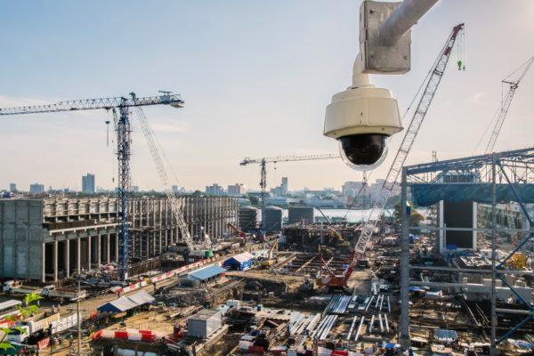 Система видеонаблюдения на заводе